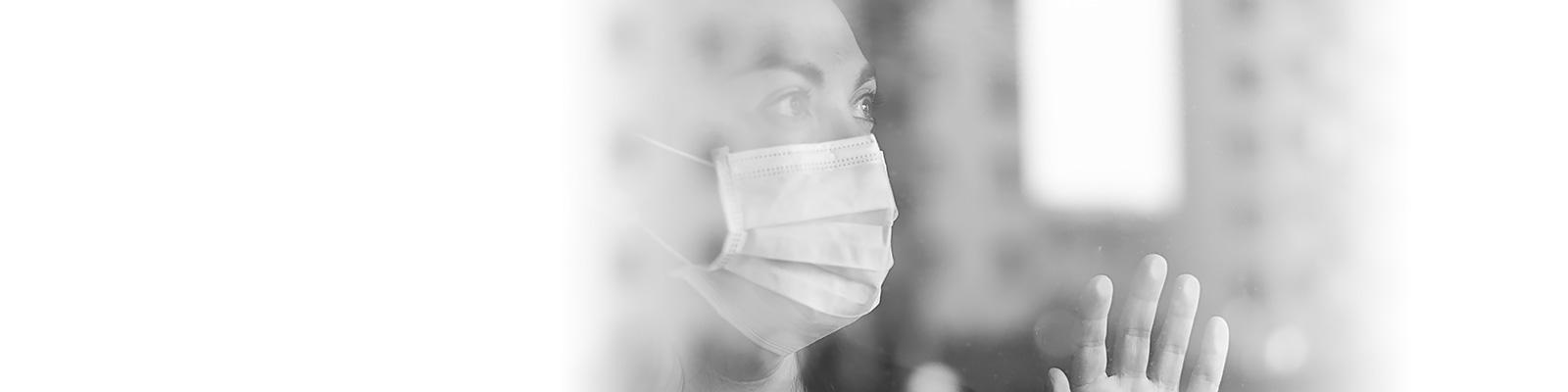 コロナ マスク プライバシー イメージ