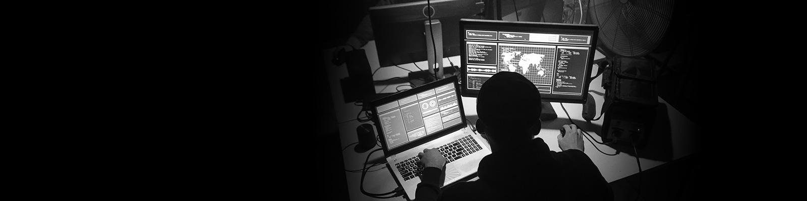 ハッカー 国際 セキュリティ イメージ