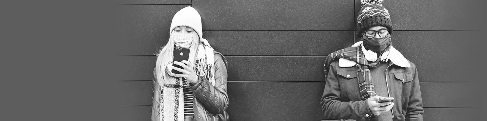 ロンドン 大学生 コロナ マスク イメージ