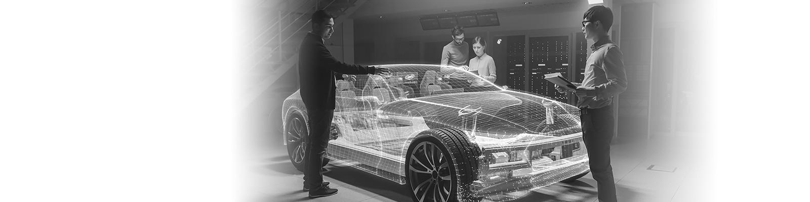 自動車 開発 VR イメージ