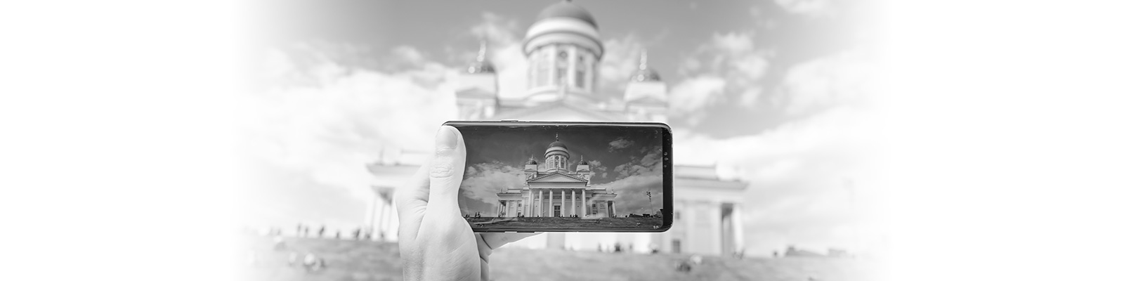 ヘルシンキ 大聖堂 スマートフォン イメージ
