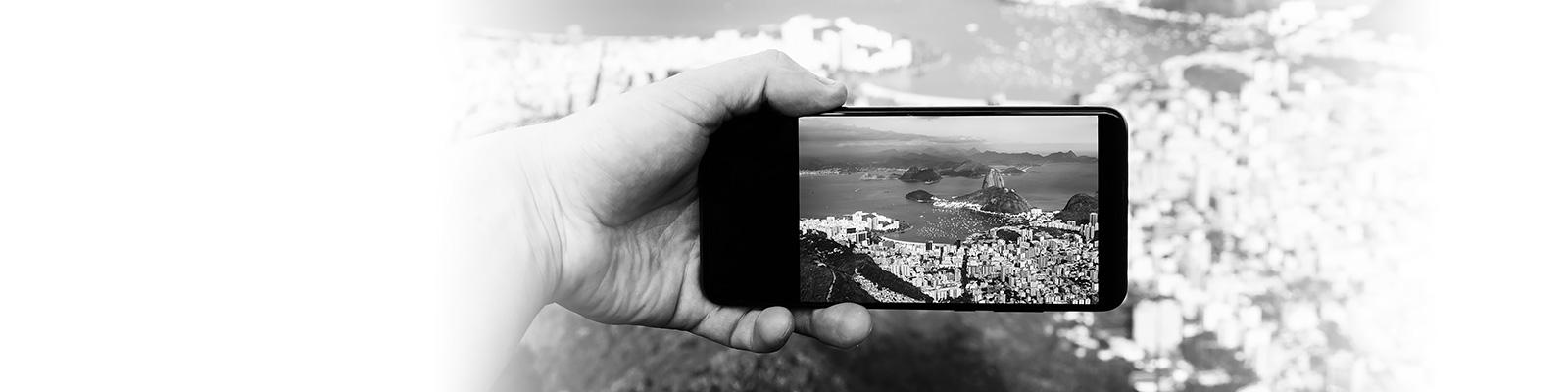 ブラジル スマートフォン イメージ