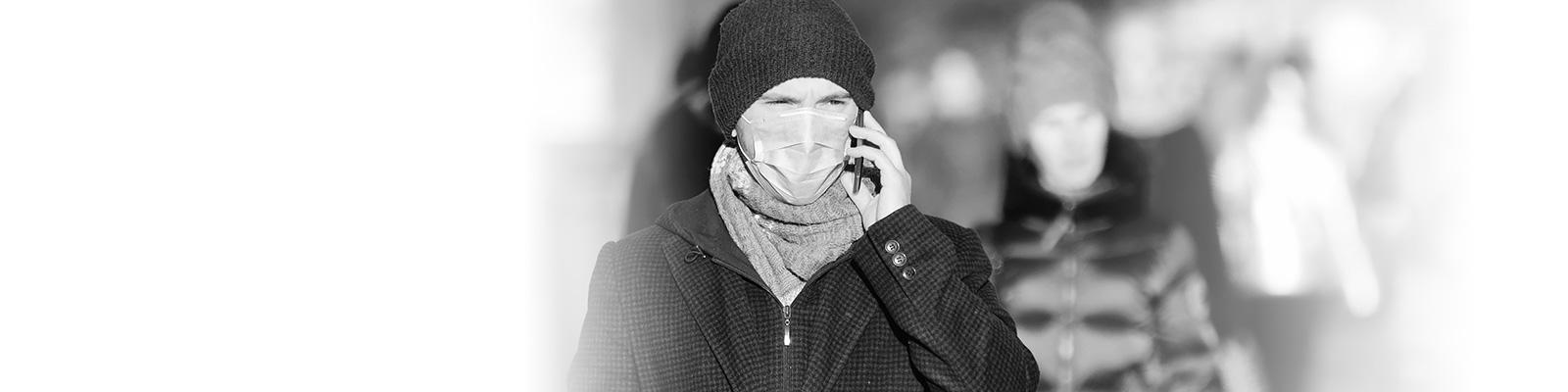 欧州 マスク 人々 イメージ