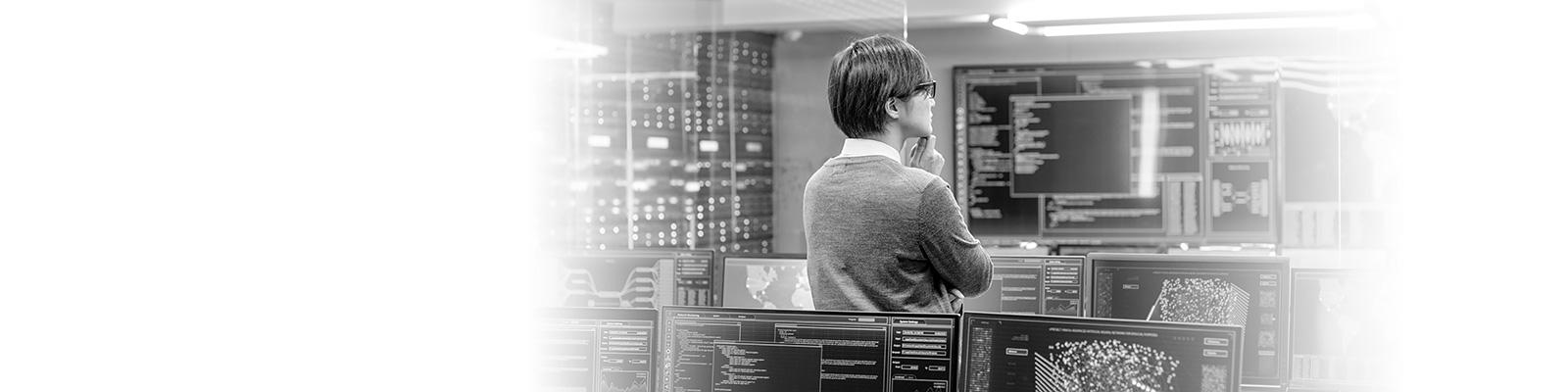 システム 管理者 コンピューティング イメージ