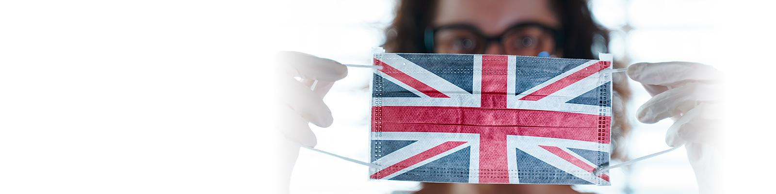 英国 コロナ マスク イメージ