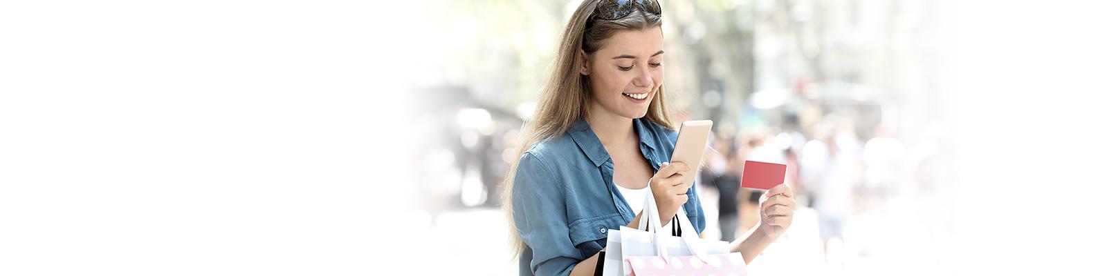 ショッピング ティーンエイジャー 決済 イメージ