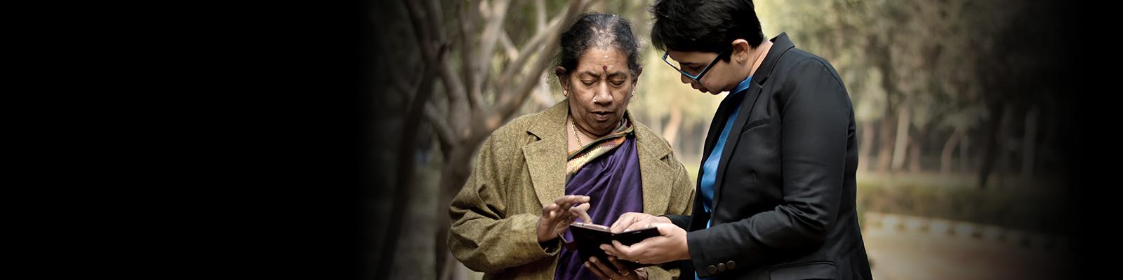 インド スマートフォン ユーザー イメージ