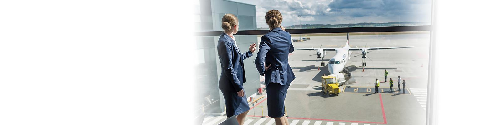空港 職員 運用 イメージ