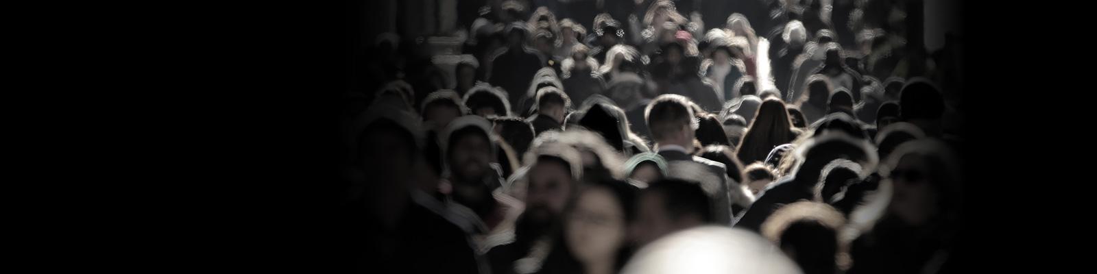 群衆 世論 人々 イメージ