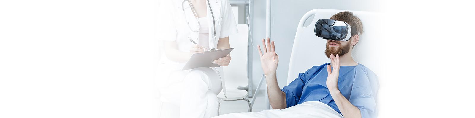 ヘルステック 患者 VR イメージ