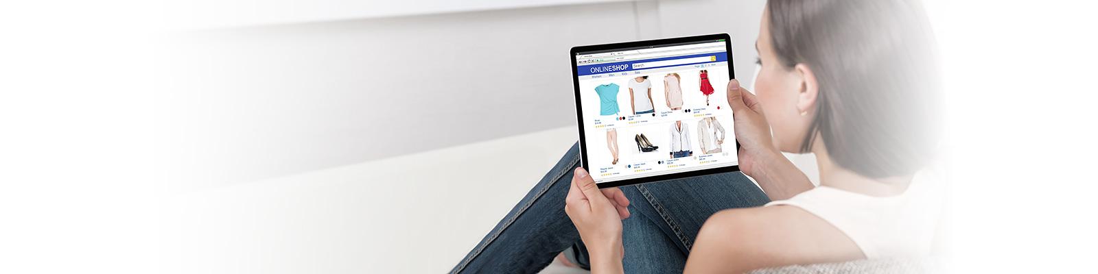 オンラインショッピング 消費者 Eコマース イメージ