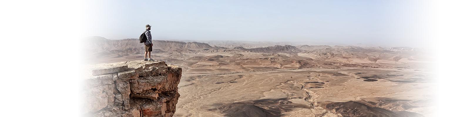 イスラエル 砂漠 渓谷 イメージ